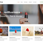 Shuttle redBusiness Wordpress Theme
