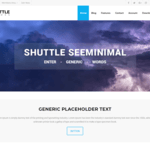 Shuttle seeMinimal Wordpress Theme
