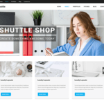 Shuttle Shop Wordpress Theme