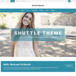 Shuttle weMagazine Wordpress Theme