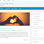 Simple East WordPress Theme
