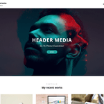 Simple Persona Wordpress Theme