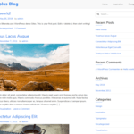 Simplus Blog Wordpress Theme