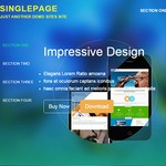 SinglePage Wordpress Theme