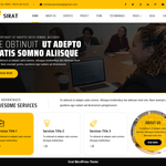 Sirat Wordpress Theme