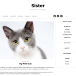 Sister Wordpress Theme