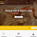 SKT Contractor Wordpress Theme