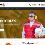 SKT Handyman Wordpress Theme