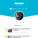 Slanted Wordpress Theme