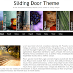 Sliding Door WordPress Theme
