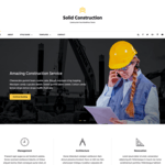 Solid Construction Wordpress Theme