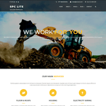 Spark Construction Lite Wordpress Theme