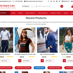 SparkleStore Lite Wordpress Theme