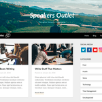 Speakers Outlet WordPress Theme