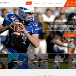 Sports Club Lite Wordpress Theme