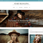 Start Blogging WordPress Theme