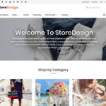 StoreDesign Wordpress Theme