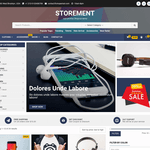 Storement Wordpress Theme