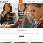 Study Circle WordPress Theme