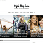 Style Blog Fame Wordpress Theme