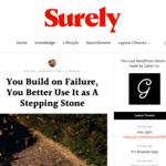 Surely WordPress Theme