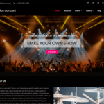 Surplus Concert Wordpress Theme