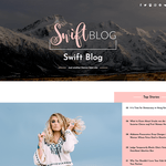Swift Blog Wordpress Theme