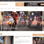 TA Newspaper WordPress Theme