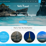 Tafri Travel Wordpress Theme