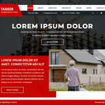Tameer Construction Wordpress Theme