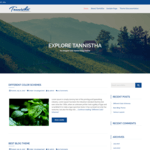 Tannistha Wordpress Theme