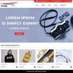 TC E-Commerce Shop WordPress Theme
