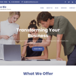 Techno Biz WordPress Theme