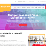 The Automobile WordPress Theme