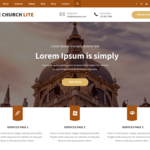 The Church Lite Wordpress Theme