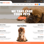 The Pet Clinic WordPress Theme