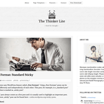 The Thinker Lite WordPress Theme