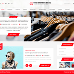 The Writers Blog Wordpress Theme