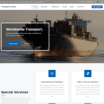 Transport Gravity Wordpress Theme