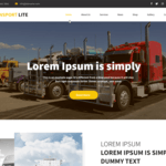 Transport Lite Wordpress Theme