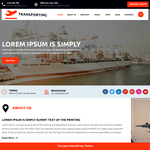Transport Movers WordPress Theme