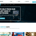 Transportex Wordpress Theme