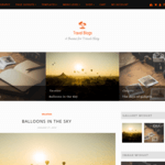 Travel Blogs Wordpress Theme