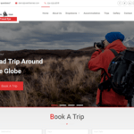 Travel Eye WordPress Theme