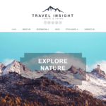 Travel Insight Wordpress Theme