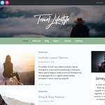 Travel Lifestyle Wordpress Theme