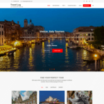 Travel Log Wordpress Theme