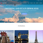 Travel Way Wordpress Theme