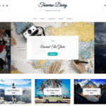 Traverse Diary Wordpress Theme