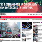 True News WordPress Theme